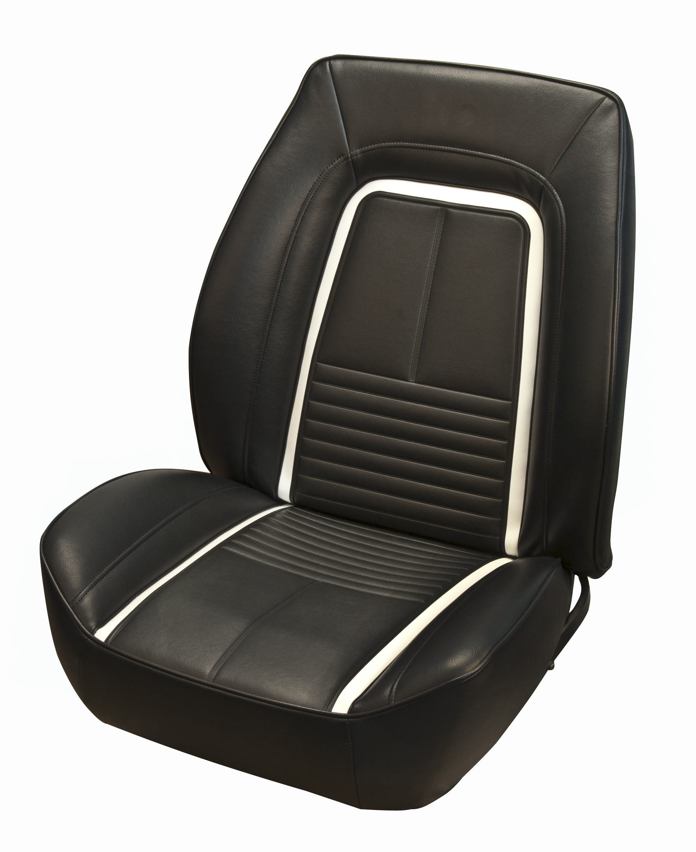 1967 Camaro Deluxe Tmi Sport Ii Seat Cover Set Front Pair