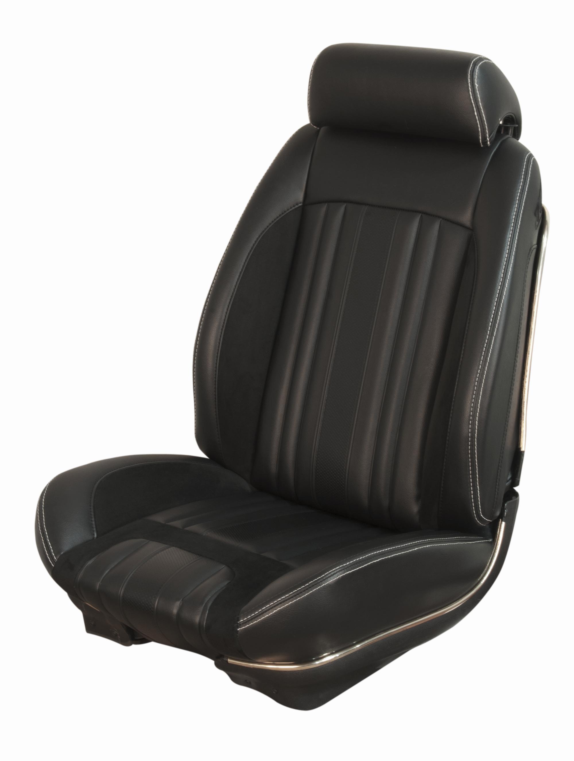 69 Chevelle Convertible Tmi Sport R Black Seat Cover Set 2