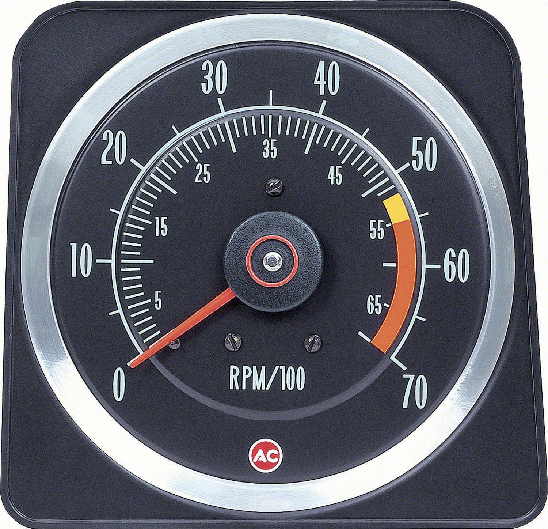 Oer 1969 Camaro Console Gauges W   Wiring  U0026 Tach 5500 Mt 69