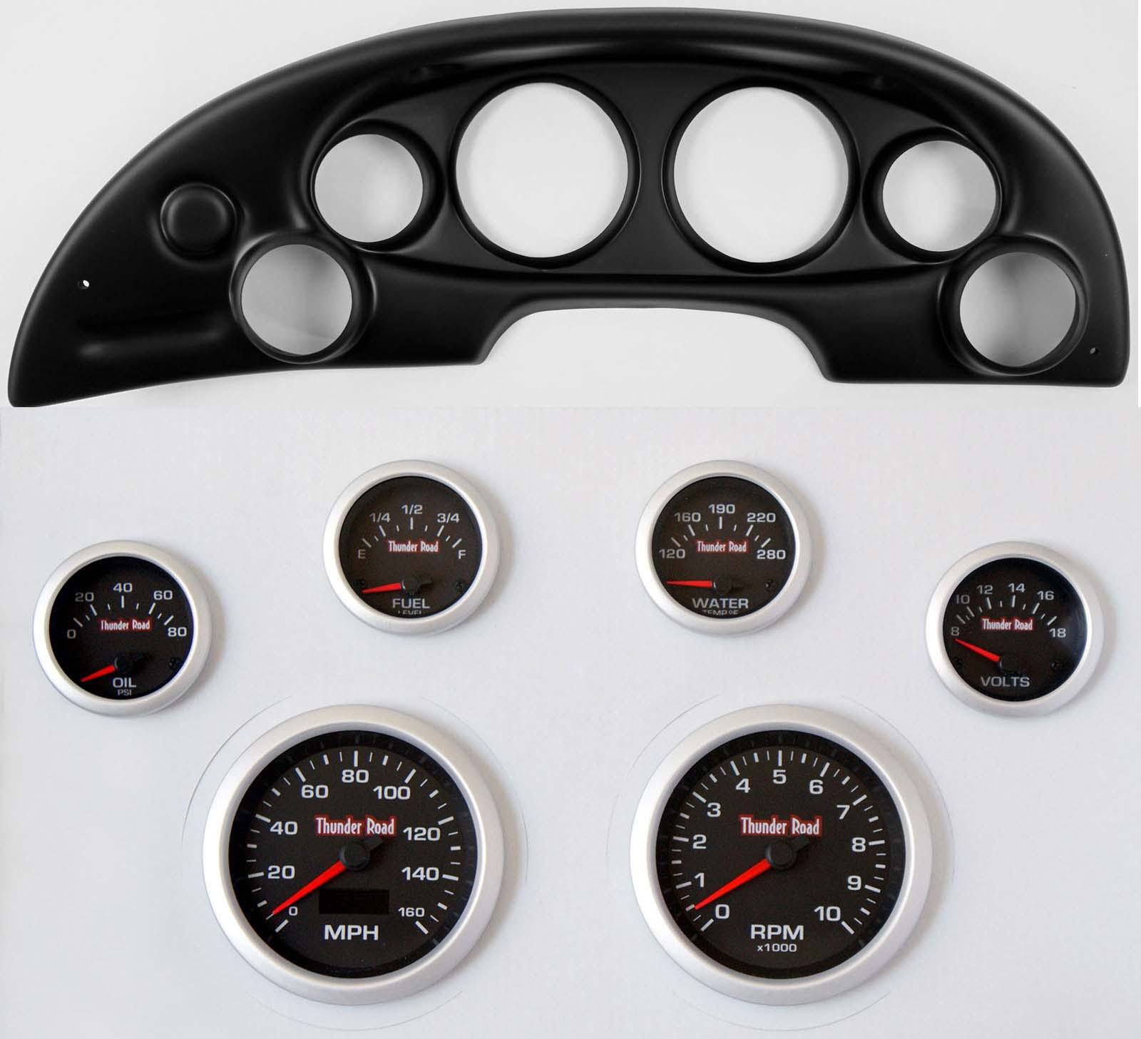 Smiths Classic black-face 80mm (3in) units. Speedos display odo or trip readout, A new range of gauges featuring the latest OLED technology screen.