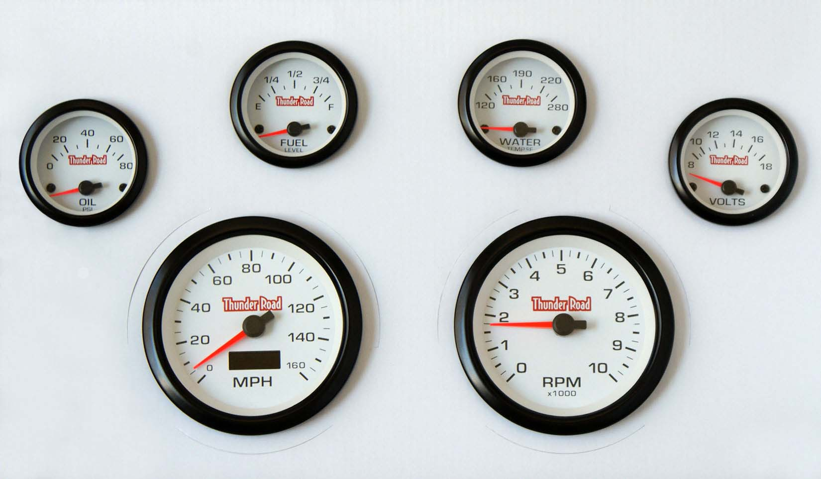 66 67 nova carbon dash carrier concorse white face gauges