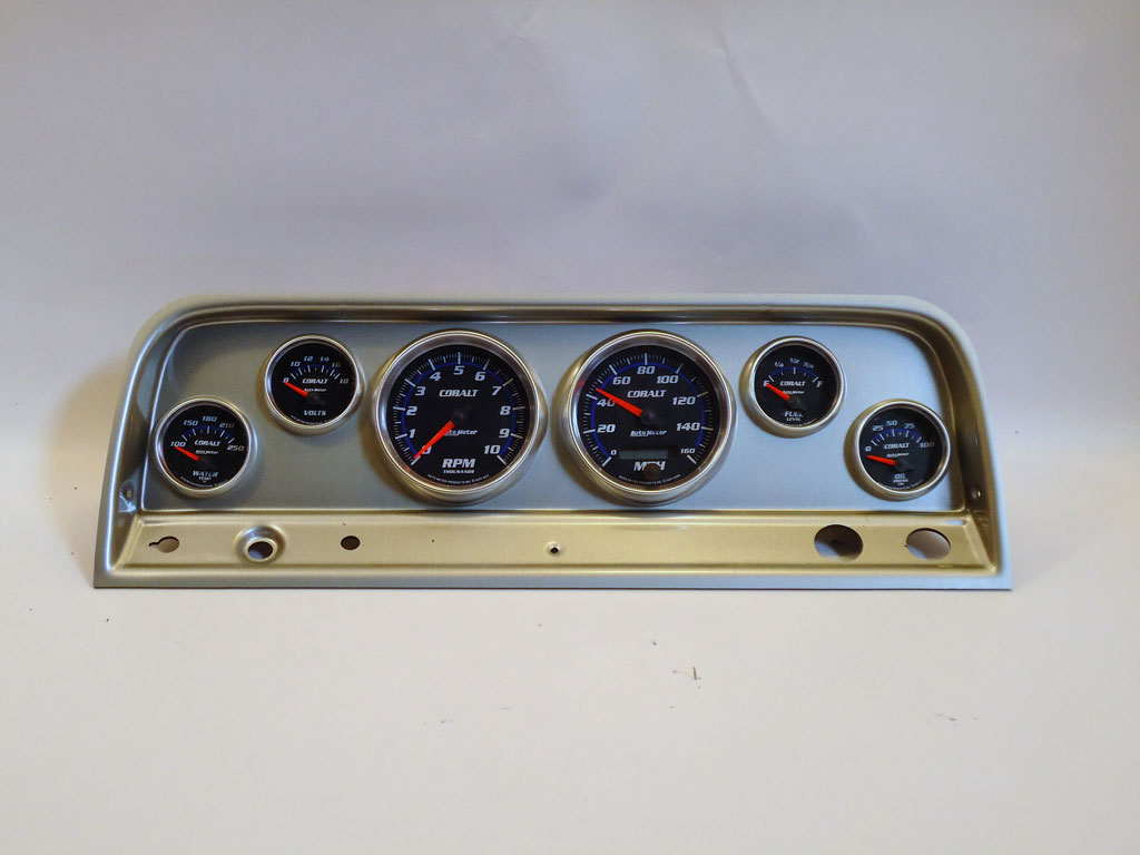 original 64 chevy truck instrument panel