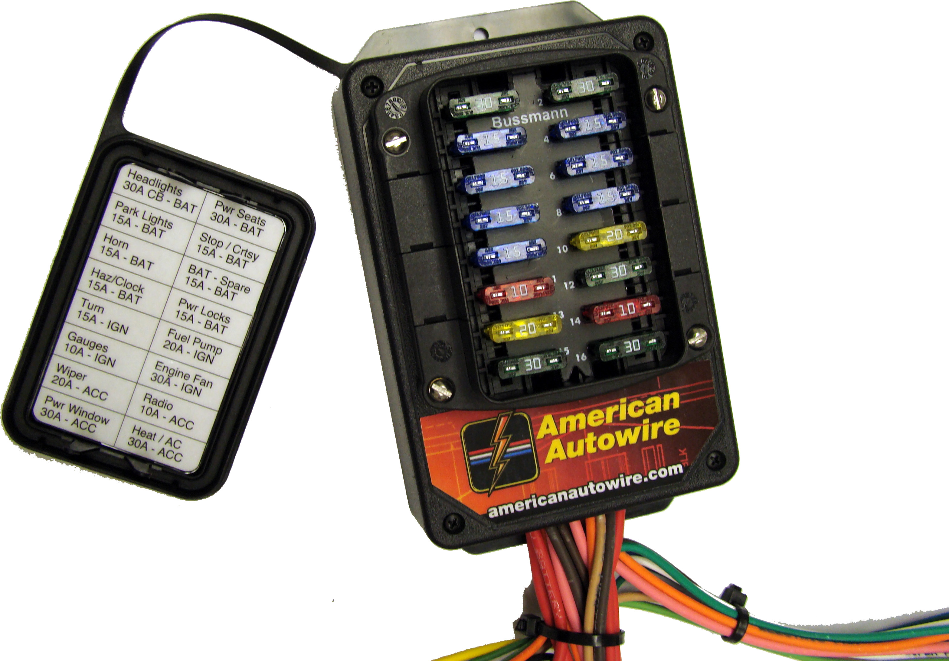 510006 fuse box builder 19 wiring system kit 510006 auxiliary automotive fuse box holder at crackthecode.co