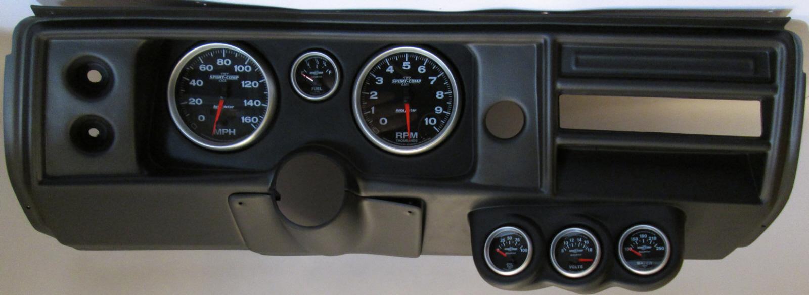 68 Chevelle El Camino Dash Panel w Sport Comp II 5