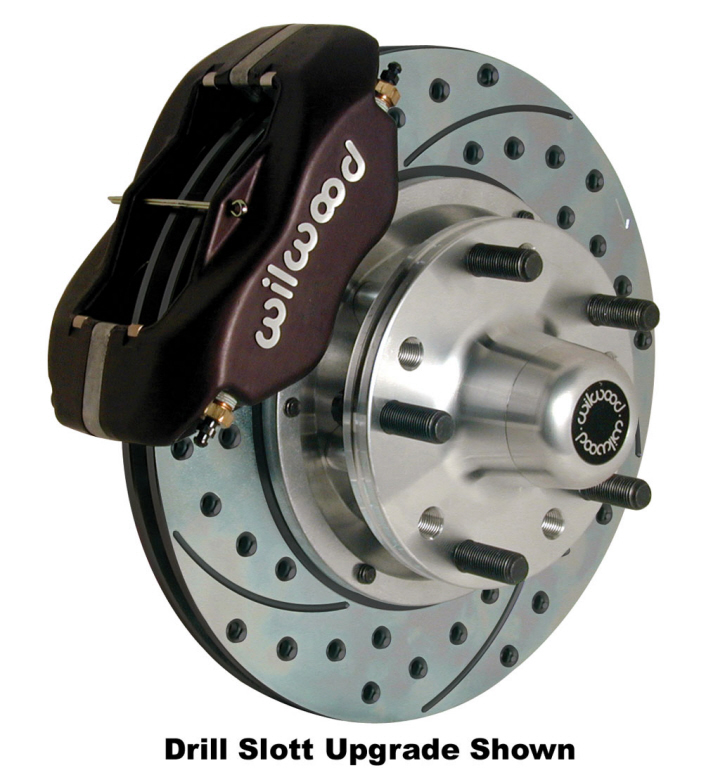 G Body Wilwood Front Disc Brake Kit 11 Quot 4 Piston 140 11009