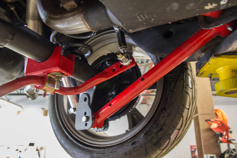 """2nd Gen Camaro Pro Touring Suspension >> 1978-1988 GM G-Body 1"""" Tubular Rear Sway Bar, Chassis Mounted 