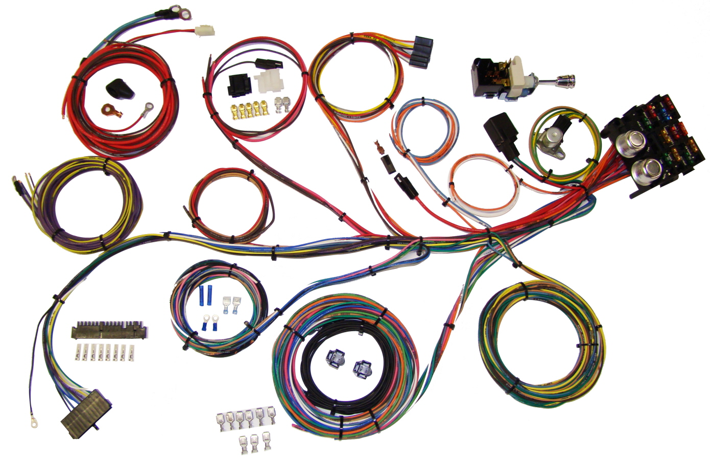 hot rod wiring harness universal wiring diagram and hernes selecting a wiring harness for your street rod