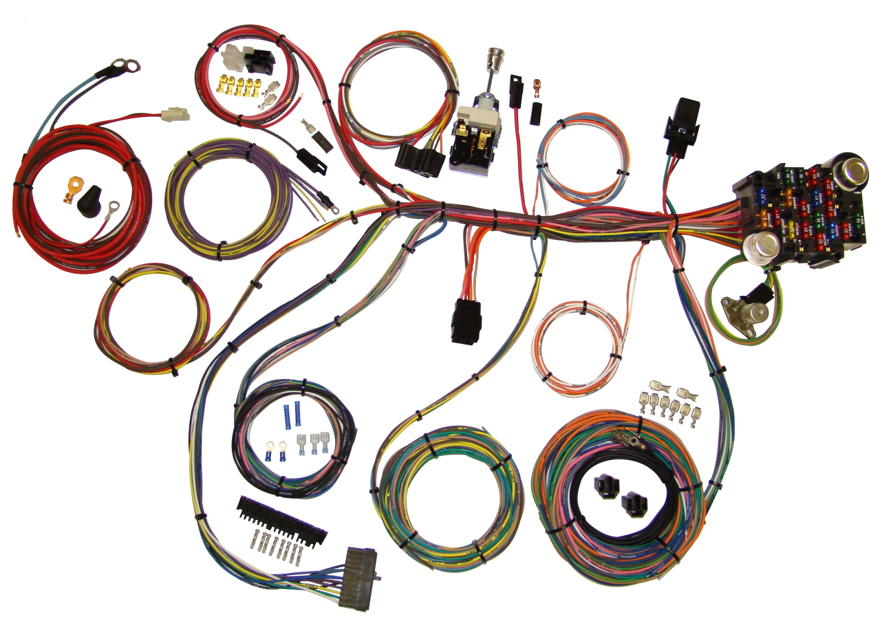 Power Plus 20 Wiring Kit 510008 Street Rod Harness
