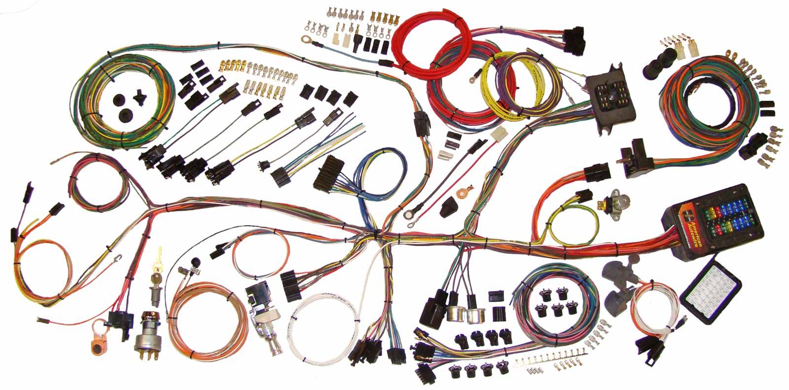 l_510140 62 67 nova classic update wiring harness 510140 auto wiring harness kits at mifinder.co