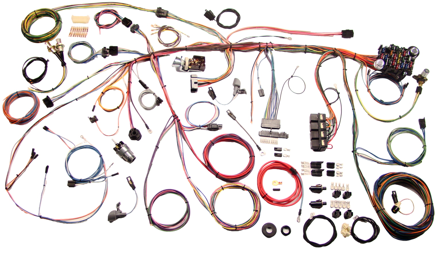 69 Mustang Classic Update Wiring Harness