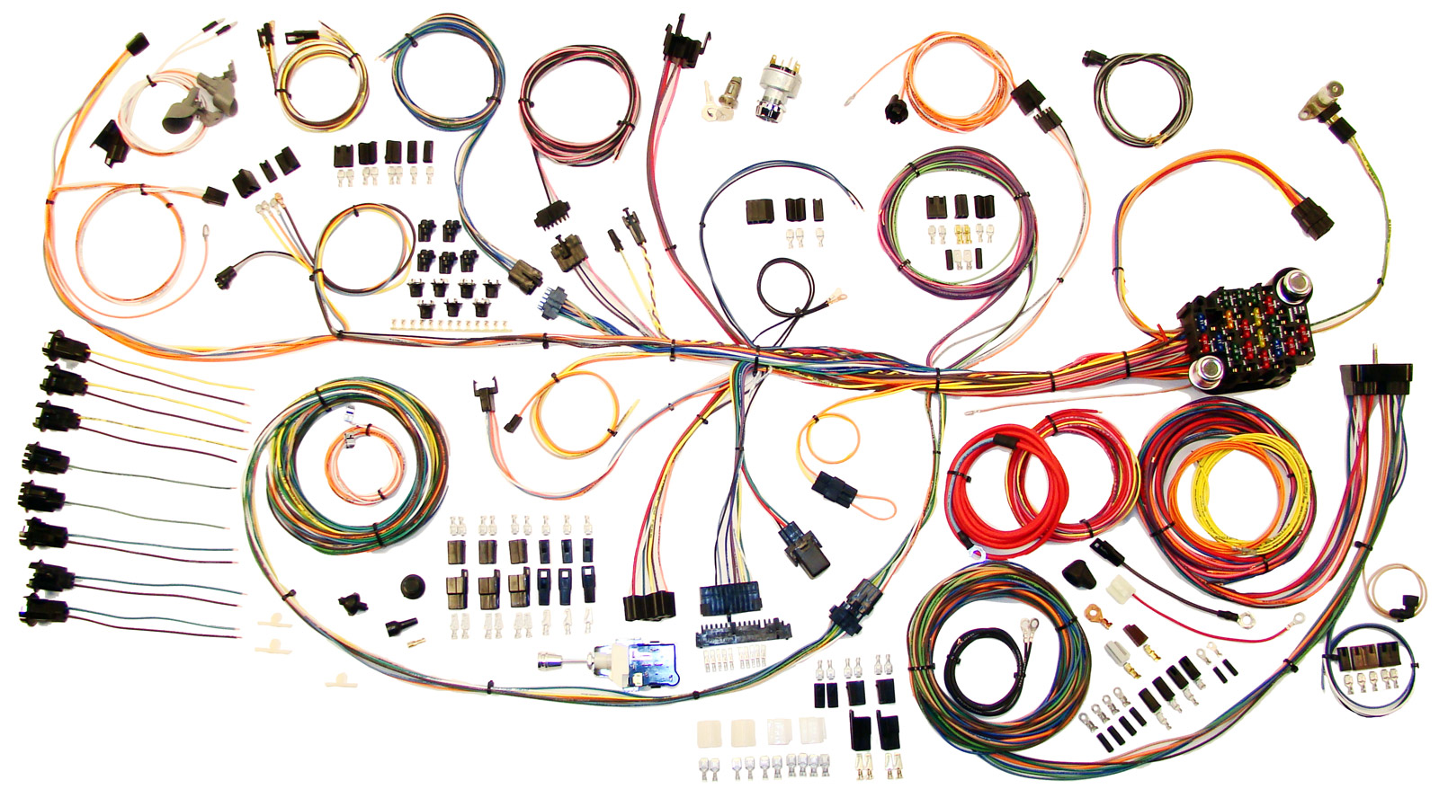 64 67 gto lemans classic update wiring harness kit 510188. Black Bedroom Furniture Sets. Home Design Ideas