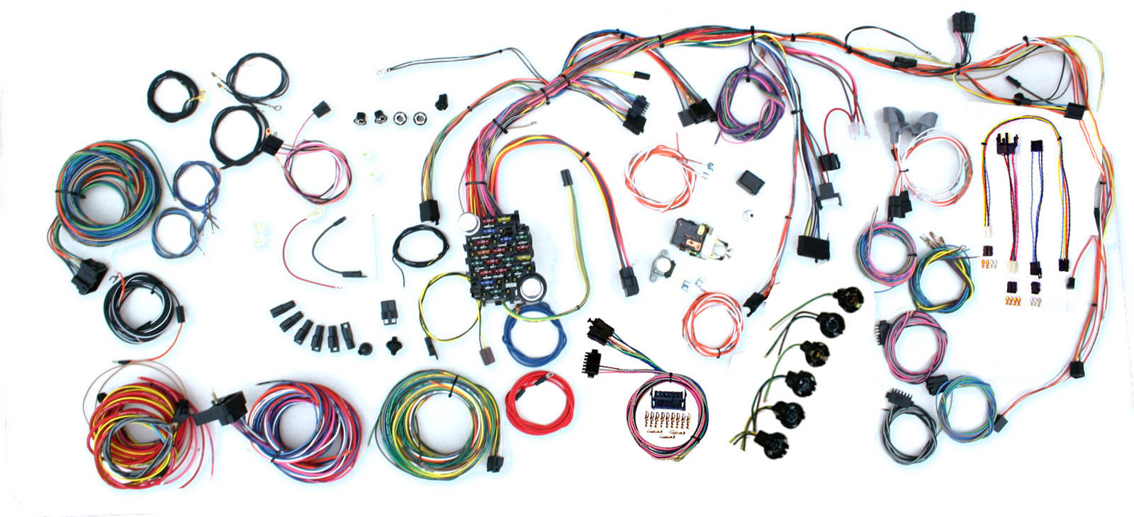 Wiring Harness Kits El Camino Dash Further 1967 Chevelle Fuel Gauge