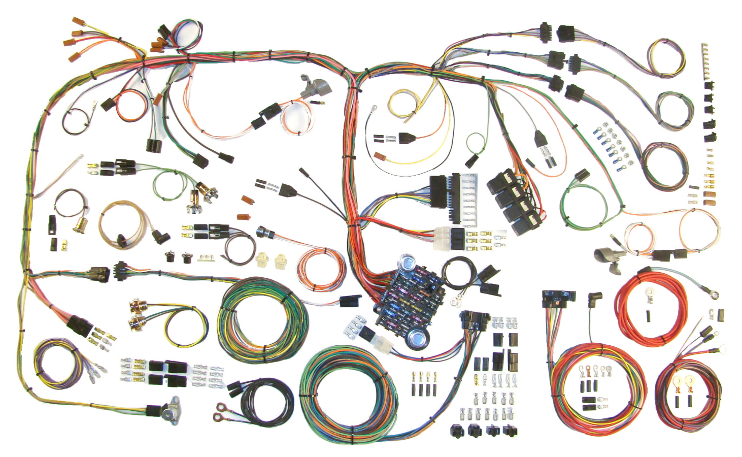 l_510289 70 74 mopar e body classic update wiring harness 510289 mopar a body engine wiring harness at bakdesigns.co