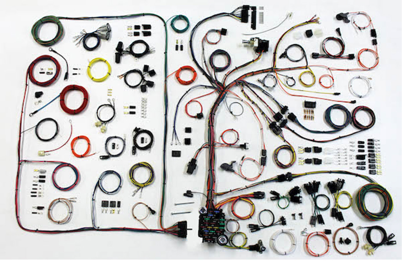 68 72 gto lemans classic update wiring harness kit 510540. Black Bedroom Furniture Sets. Home Design Ideas