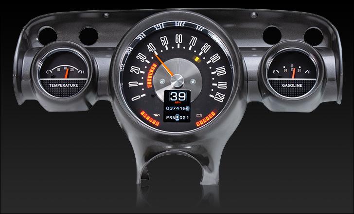 1957 chevy car rtx gauge system