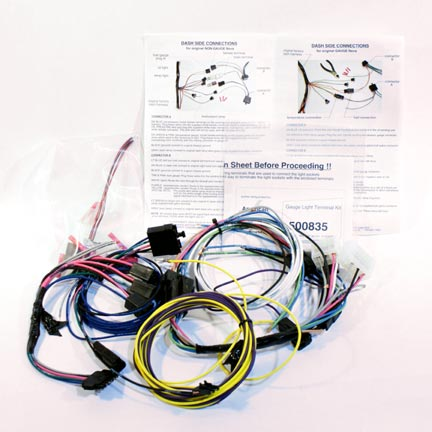 65 nova wiring harness 1962-65 chevy ii/nova gauge wiring harness | 140-62-5200