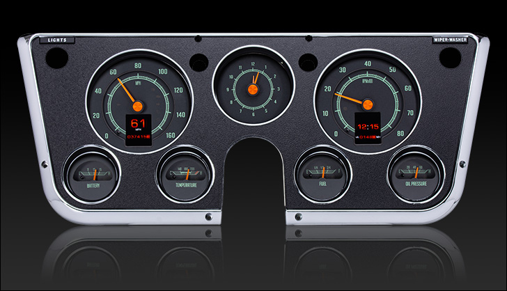 1967 - 1972 Chevy / GMC Truck RTX Gauge System | RTX-67C-PU-X