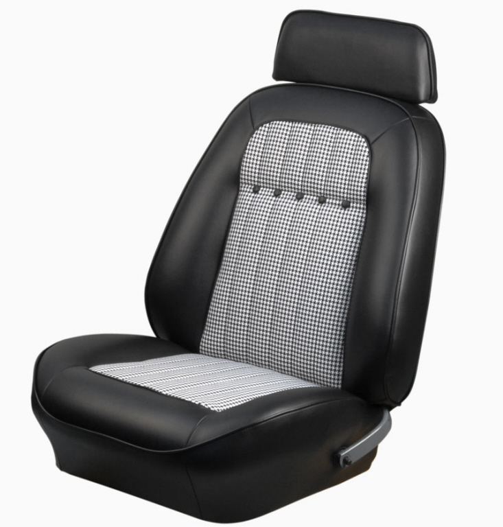 Tmi Bucket Seat Covers 69 Camaro Deluxe Houdstooth 43