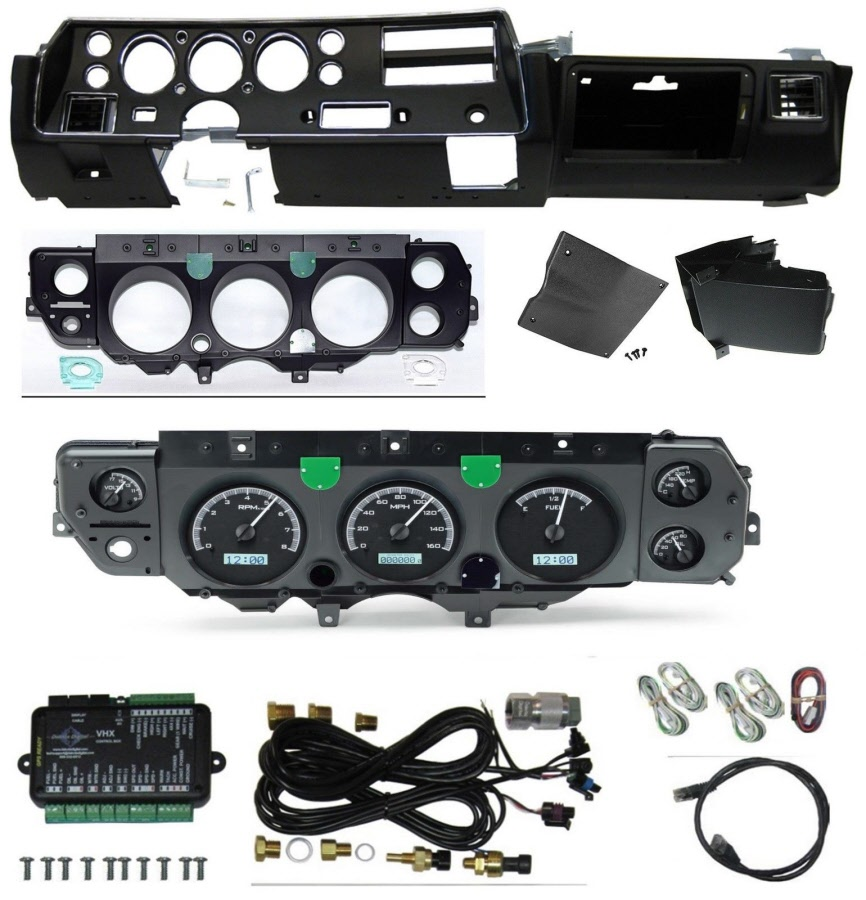 70-72 SS Dash Conversion kit with Dakota VHX Gauges on 88 mustang wiring harness, 72 chevelle ss dash conversion, 72 chevelle seat, 72 chevelle front end, 72 chevelle wiper motor, 72 chevelle battery, 72 chevelle relay, 72 chevelle fuel sending unit, 72 chevelle motor mounts, 72 chevelle driveshaft, 72 chevelle gauges, 72 chevelle tail light, 69 camaro wiring harness, 72 chevelle alternator, 72 chevelle fuse box, 72 chevelle door handle, 72 chevelle exhaust, 72 chevelle shifter, 72 chevelle radiator, 72 chevelle voltage regulator,