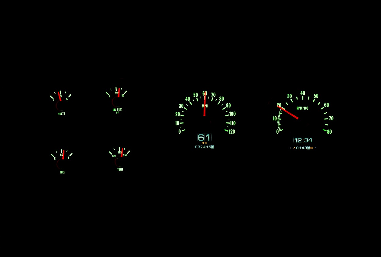 1976 1978 Chevy Gmc Truck Blazer Suburban Rtx Gauge System Fuel