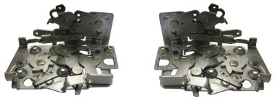 56 57 chevy bel air door latch pair lh and rh shipping