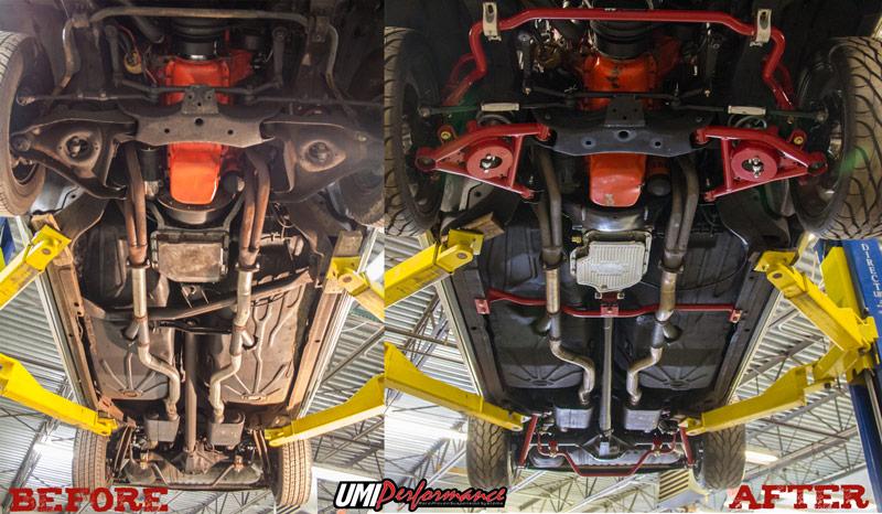 Monte Carlo Pro Touring >> 1978-1988 GM G-Body Handling Kit- Stage 4   GBF004
