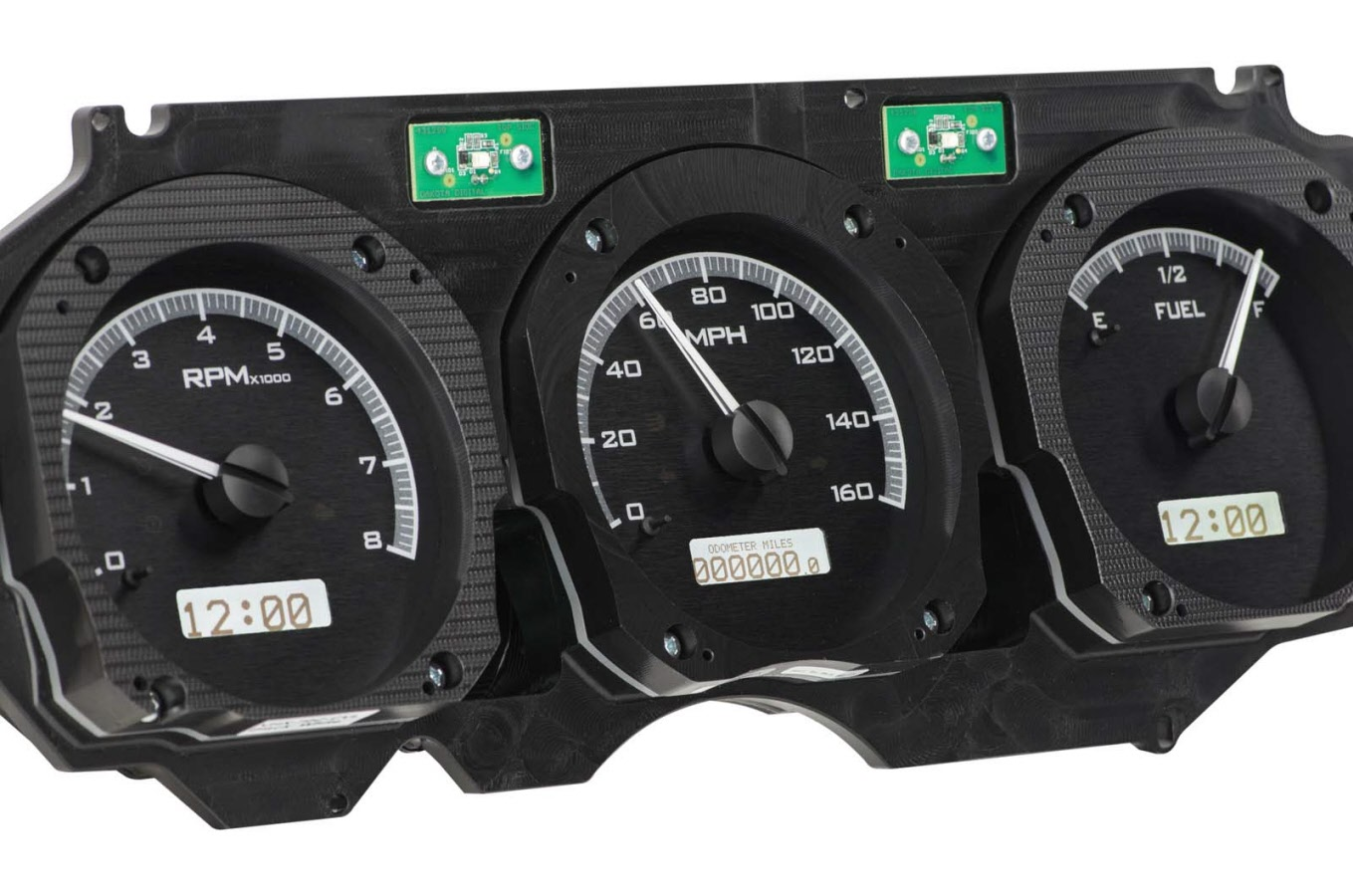 70 72 Ss Dash Kit With Vhx Gauges Radio And Dash Pad