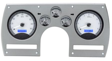 82 89 Camaro Dakota Digital VHX Dash Carrier Gauge Speedometer Tachometer