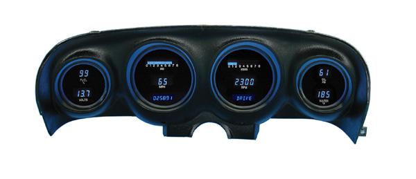 69 70 Mustang Dakota Digital Dash Cluster Vfd3 69m
