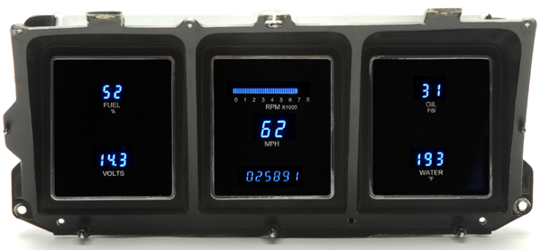 1973 1979 Ford Pickup Dakota Digital Dash Cluster Vfd3
