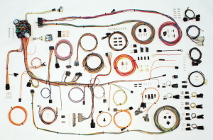 American Autowire Factory Fit Wiring Harness Kits on pontiac firebird, 1st gen firebird, bandit firebird,
