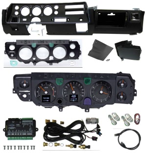 70 - 72 SS Dash Conversion Kits (From Sweep Style to SS Round)