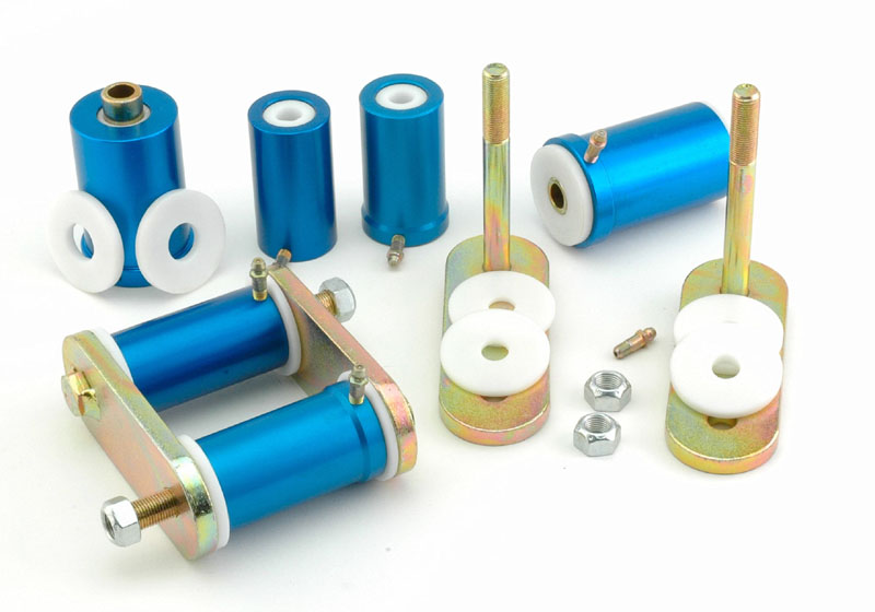 Del-A-Lum Bushings and Shackle Kit, for Multi-Leaf Springs 1967-81 ...